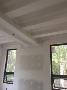 Custom taping and drywall work